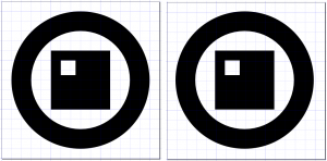 Comparing icon snapping to a grid